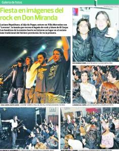 Lovorne-Recital producido por Doctor Rock F.M., 11/5/2012