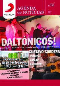Agenda de noticias Sony Music San Luis, paginas sobre el San Luis Rock Performance (2010)-IV