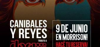 Tributo The Doors – Canibales y Reyes – Sabado 9 de Junio – Villa Mercedes